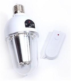 Лампа с аккумулятором и пультом управления (remote controlled lamp) - фото 22059