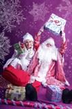 Дед Мороз и Снегурочка выезд 31.12.15 ночь