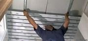 Демонтаж реечных потолков, пластиковых панелей