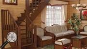 Лестница для дачи К-021м