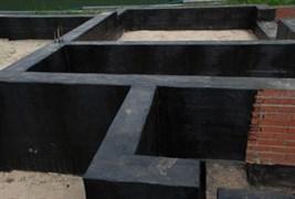 Гидроизоляция фундамента и цокольной части