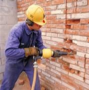 Демонтаж стены кирпичной