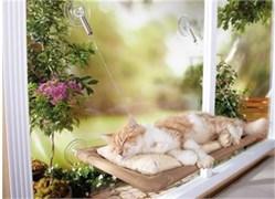 """Лежанка подвесная для кошек """"Теплое Местечко"""" (sunny seat)"""