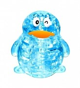 3D пазл Crystal Puzzle Пингвин XL Светильник