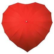 Зонт Сердце красный