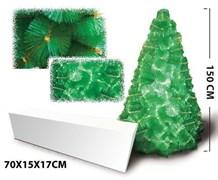 Новогодняя елка (150 см. ) с заснеженными ветвями