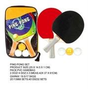 Набор для настольного тенниса (две ракетки и 3 шарика)