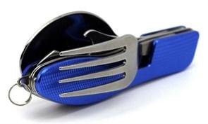 Набор туриста 3 в 1 (ложка,вилка,нож)