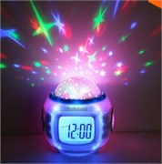 """Мульти-функциональные часы-будильник """"Звездное небо"""""""