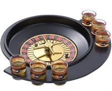 Рулетка игровой набор 6 стопок