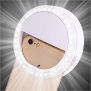 Светодиодное селфи кольцо на батарейках Selfie Ring Light