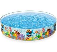 """Надувной бассейн """"Рыбы"""" 244х46см"""