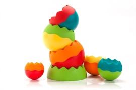Конструктор для самых маленьких «Танцующая пирамидка» (ROLLER CUPS)