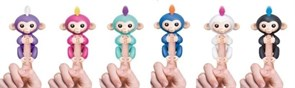 Обезьянки fingerlings Бирюзовый