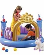 Игровой надувной центр замок принцессы
