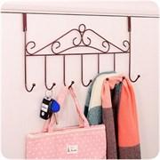 Съемная вешалка на дверь (5 крючков)