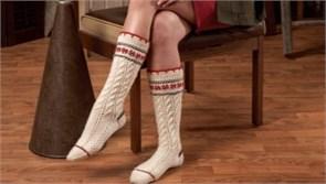 Носки из верблюжей шерсти (согревающие)