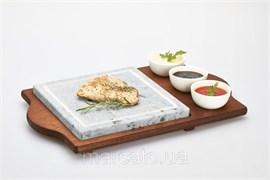 Мыльный каменный гриль для дома, бара, кафе, ресторана Hot Stone Grill Bisetti 99051