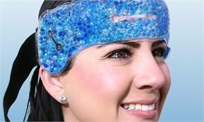 Компресс для головы гелевый (Hot/cold beads for head, sinus & teeth/ Migraine Relief Wrap)