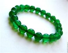 Браслет «Зеленый кварц» (SBR150338GN)