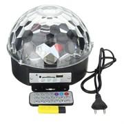 Светодиодный диско-шар LED Magic Ball 4 MP3