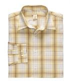 Рубашка в коричневую клеточку