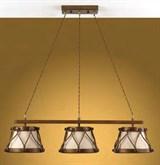 установка люстры простой на 2-4 светильника