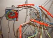 Пайка проводов в распаячной коробки