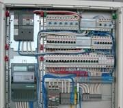 Установка эл.щита, накладной(12-36 модулей)
