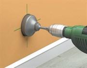 Сверление отверстия под подрозетник в гипсокартоне ( d=70мм)