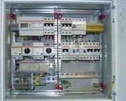 Установка эл.щита, внутренний до 12 модулей