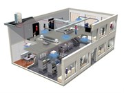 Стандартный монтаж (колонного типа) от 3,5 кВт до 8,5 кВт
