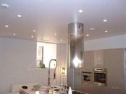Натяжной потолок Бельгия 2,7-3,2 глянцевый  белый 14 м кв  и более