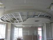 Устройство  каркаса подвесного потолка (под ГКЛ )в I уровень