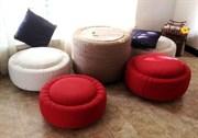 Химическая чистка мебели пуфик