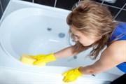 Чистка сантехники ванна