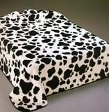 Плед меховой с полировкой 2-спальное