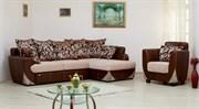 Перетяжка гарнитуров сложной конструкции (диван +2 кресла цена за 1 комплект)