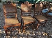 Замена ротанга стульев