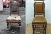 Полная реставрация стульев