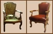 Полная реставрация кресла