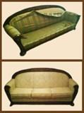 Полная реставрация дивана
