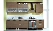 Сборка, установка выравнивание и навеска кухонных модулей