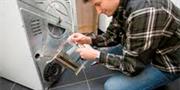 Замена натяжного или направляющего ролика с полной разборкой машины