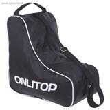 Сумка для коньков и роликовых коньков (ONLITOP черная)