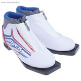 Ботинки лыжные TREK Russia Comfort NN 75 ИК (белый, лого красный) (р.37)