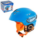 Шлем зимний, лыжи, сноуборд Hot Wheels, р-р М (54-58см)